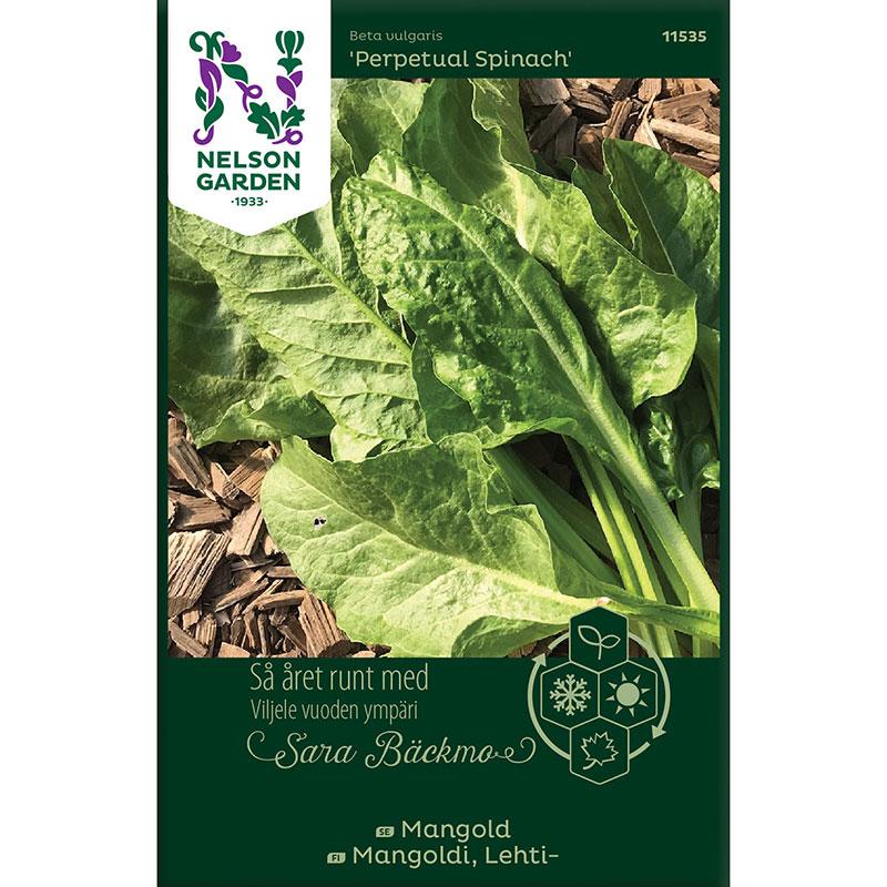 Frö till Mangold, Beta vulgaris 'Perpetual Spinach'