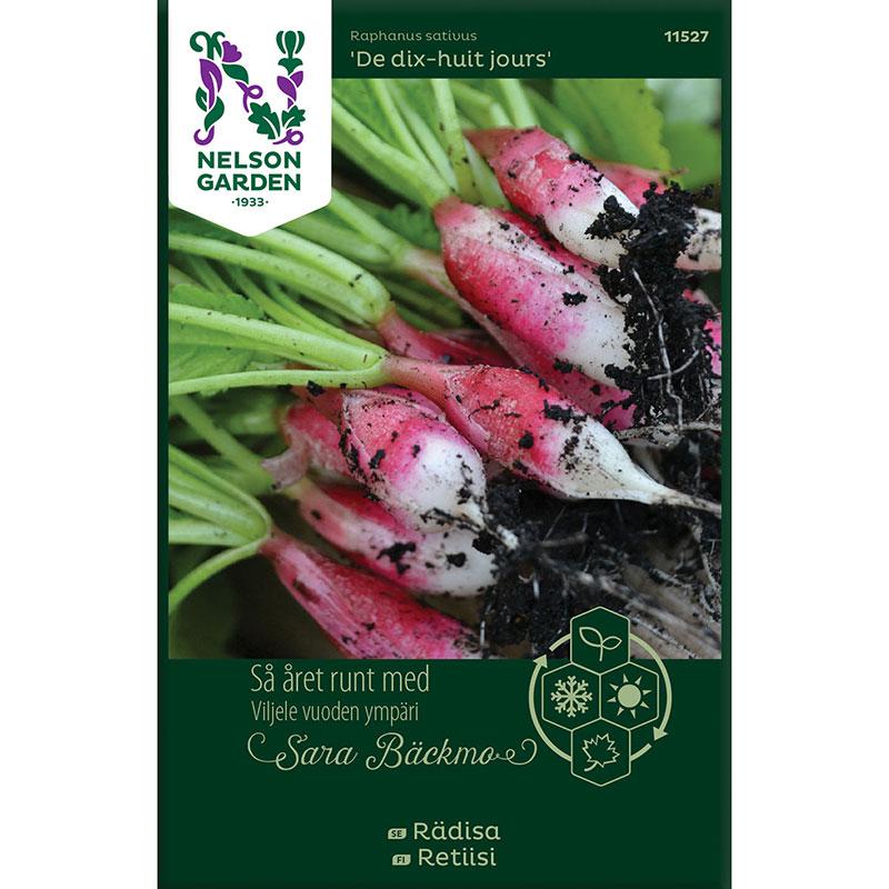 Frö till Rädisa, Raphanus sativus 'De dix-huit jours'