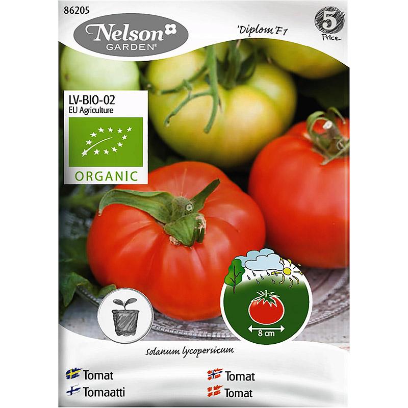 Tomat Ella F1, Organic-Ekologiskt frö till tomat, Ella F1