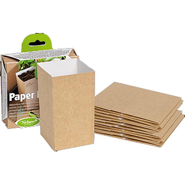 Paper Pot 0,5 liter-Miljövänlig planteringskruka Paper Pot
