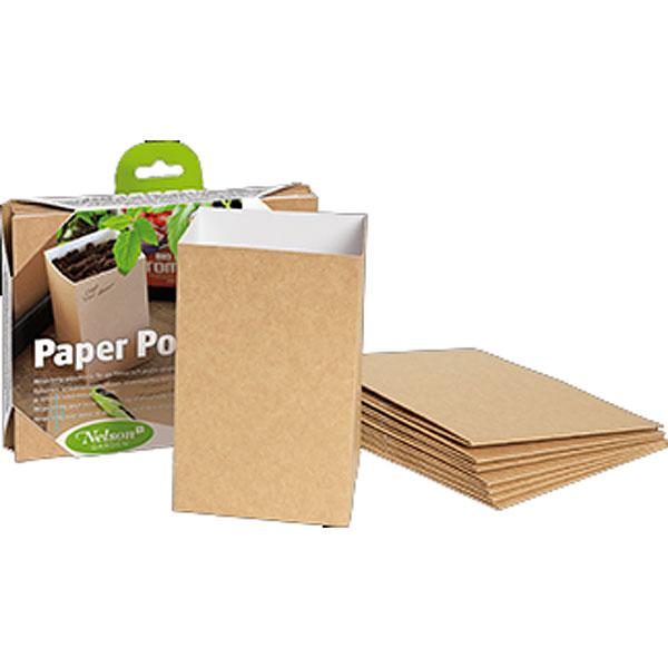 Paper Pot 1,2 liter-Miljövänlig planteringskruka Paper Pot