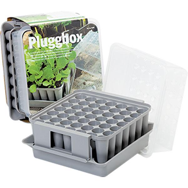Pluggbox - PlantStart-Pluggbox - pluggbrätte med miniväxthus