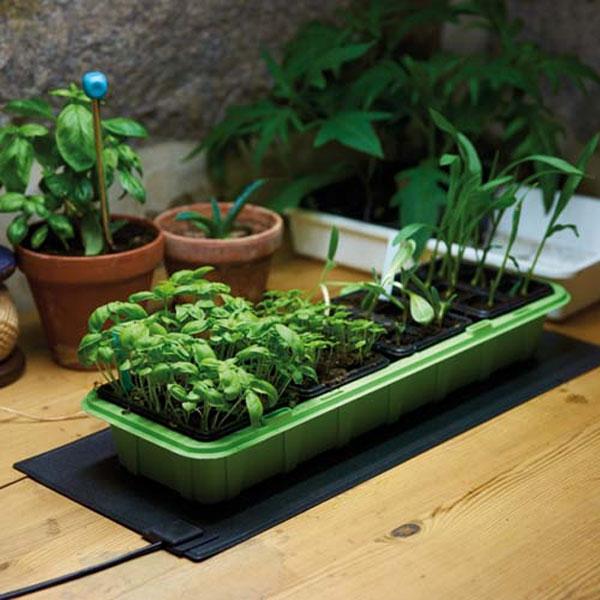Värmematta för växter, värmematta för frösådd och sticklingar