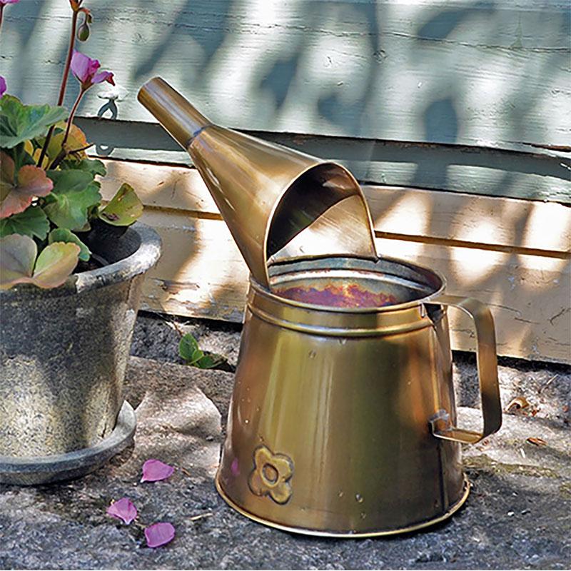 Vattenkanna Copper, 2 liter, vattenkanna till krukväxter