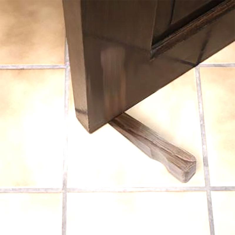 Dörrstopp tillverkat av FSC-odlad ek