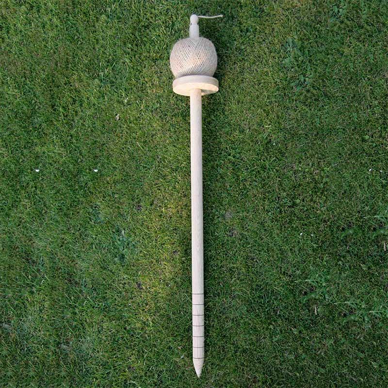 hållare till jutesnöre för trädgårdsarbete