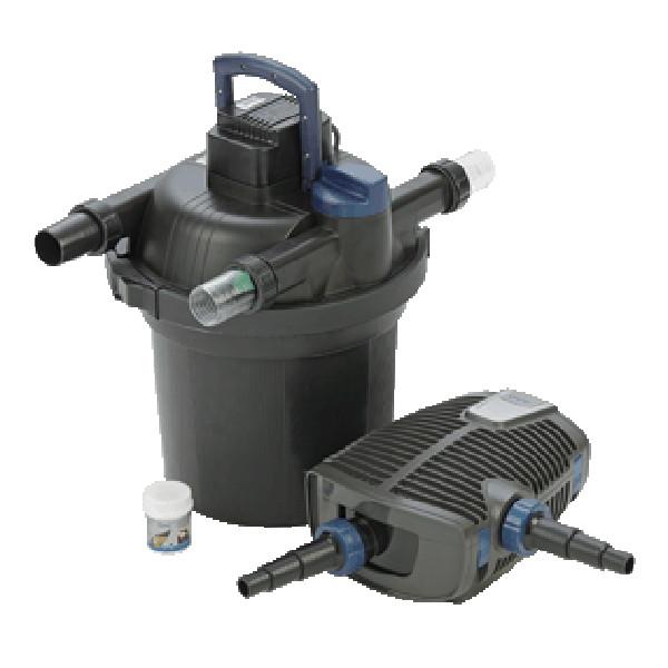 FiltoClear Set 12000 - Tryckfilterset-Tryckfilterset med UVC och patenterad rengöringsfunktion