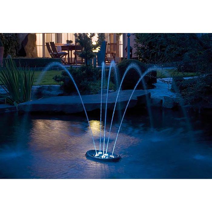 Water Starlet, Flytande vattenspel med LED-belysning