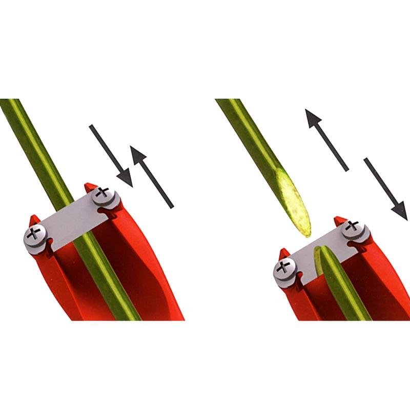Vass snittkniv till buketter