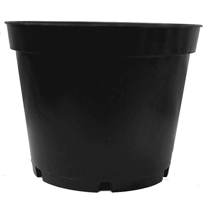 Plastkruka 1 Liter, 5-pack-Plantskolekruka/planteringskruka 1 liter