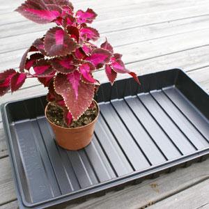 Plantlåda för planteringskrukor