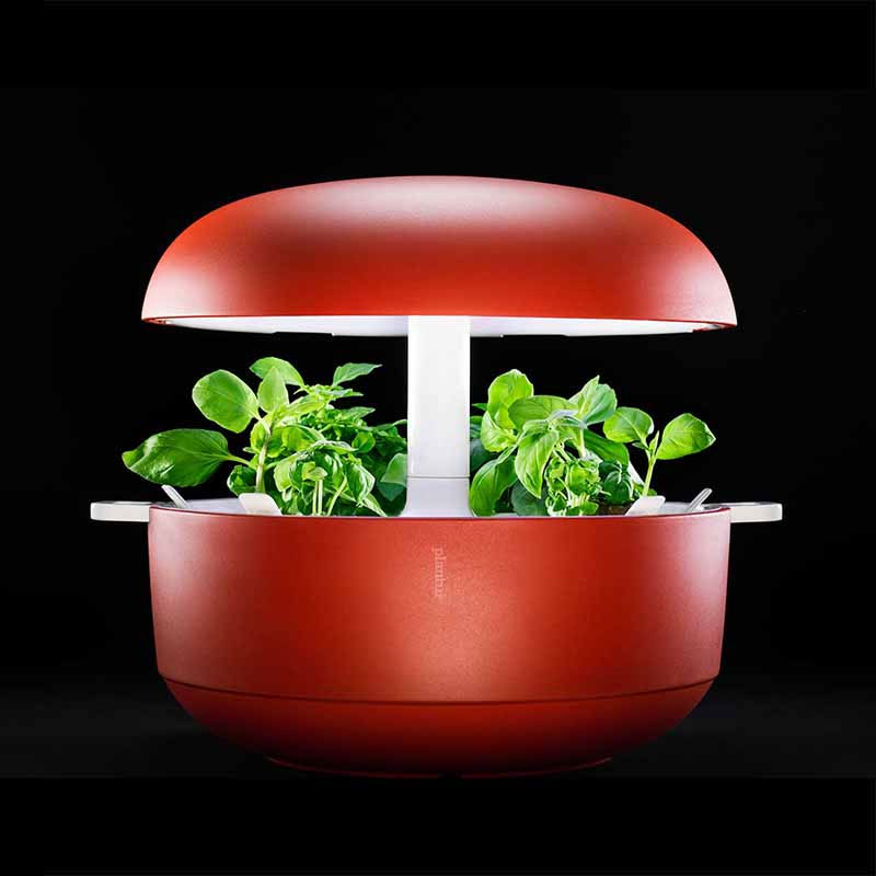Plantui Smart Garden - inomhusodling, röd,