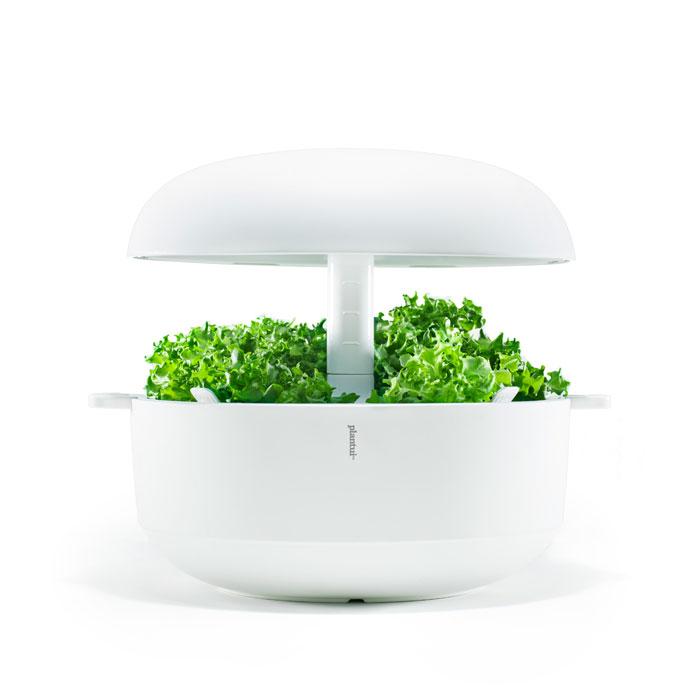 Plantui Smart Garden - inomhusodling, vit, Inomhusodling med hydrokultur-vattenodling Smart Garden