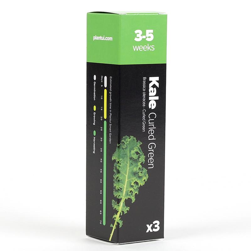 Förpackning till Grönkål, Curled Green