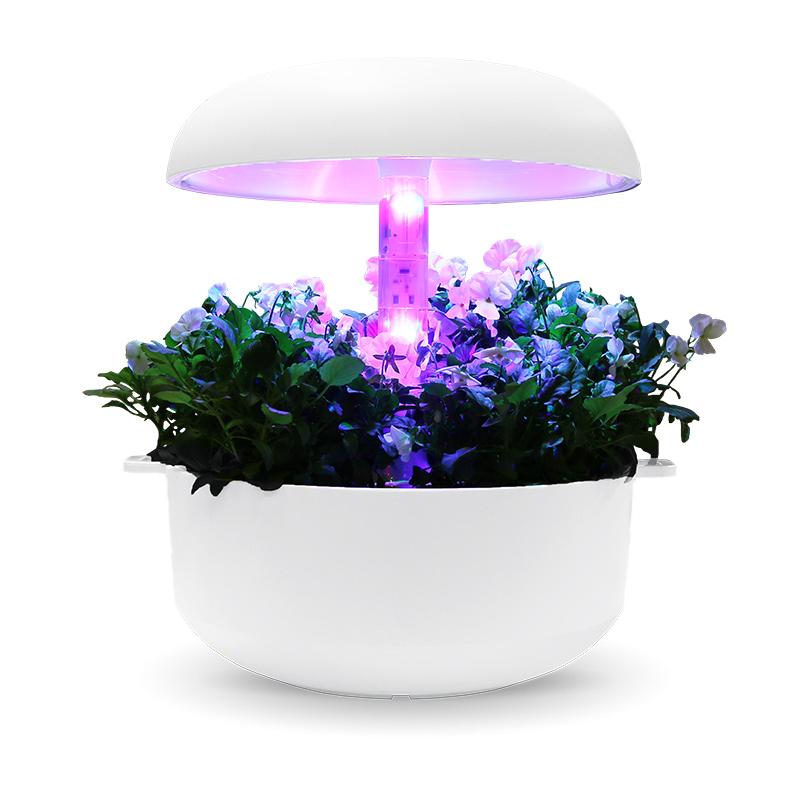 Påbyggnadsdel med LED lampa till växtodling