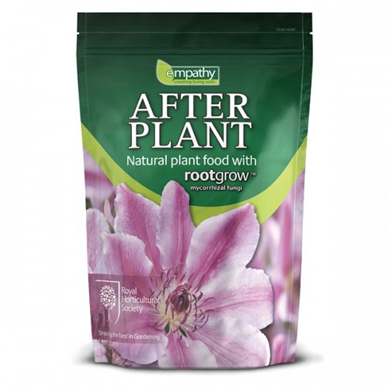 AfterPlant plant food med rootgrow, rootgrow mycorrhiza för plantering