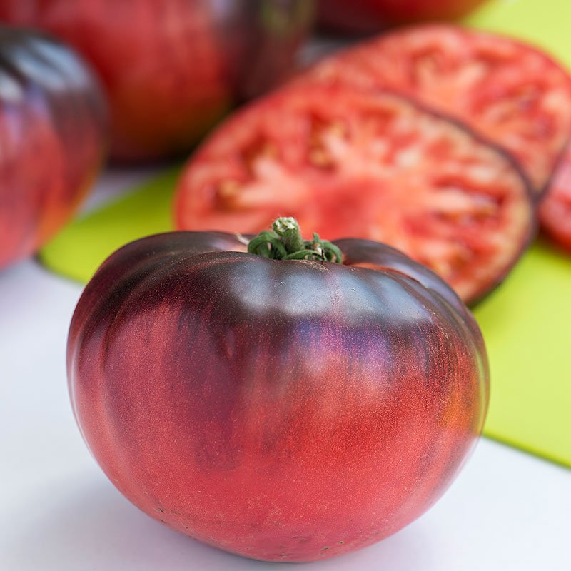 Tomatfrö bifftomat Indigo Blue beauty