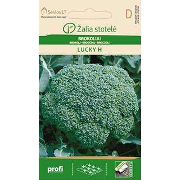 Broccoli Lucky, Frö till Broccoli - Lucky
