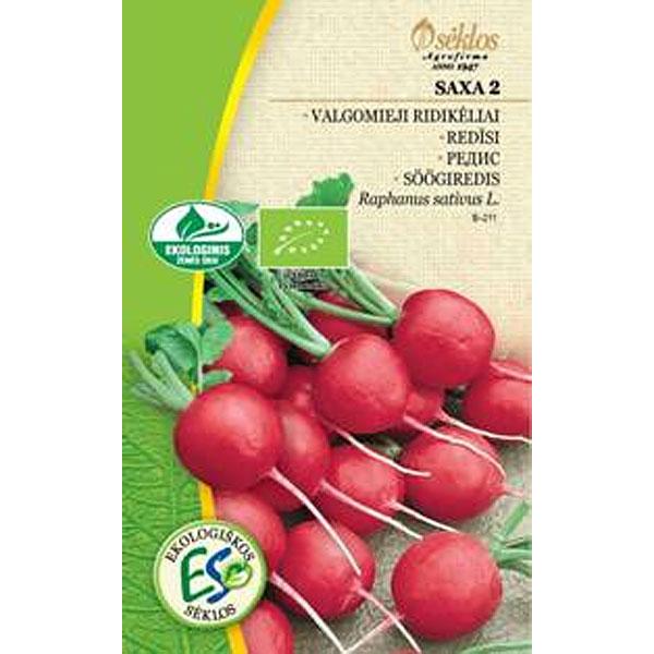 Rädisa Organic, Saxa 2, Frö till Rädisa Organic - Saxa 2