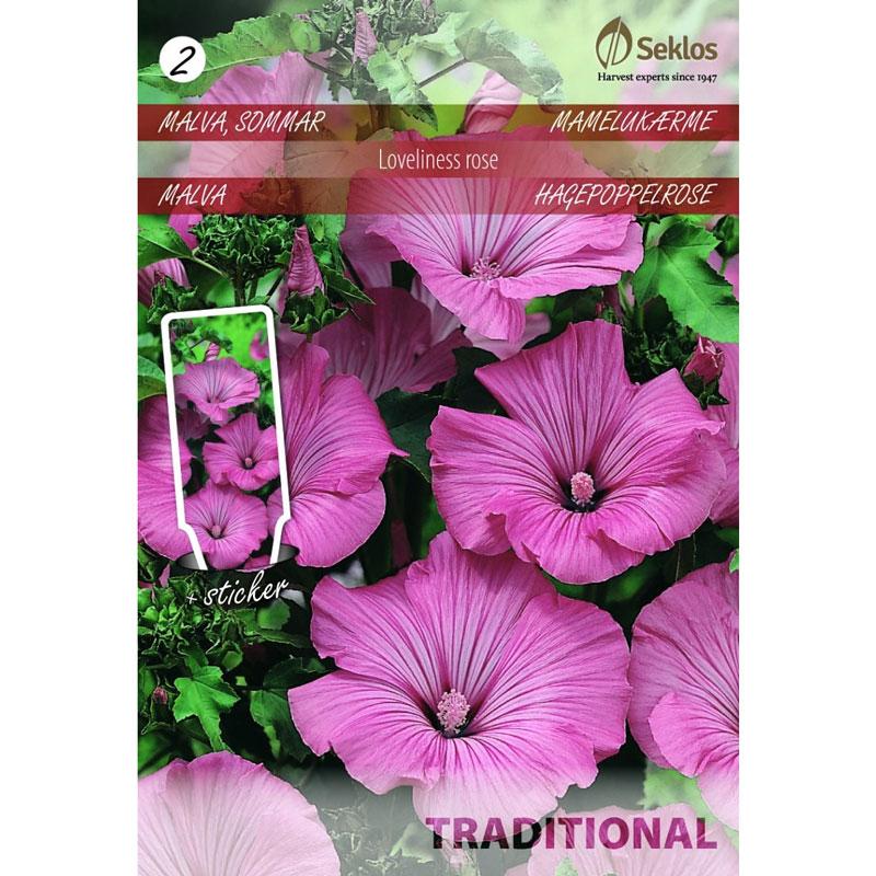 Frö till Sommarmalva, Lavatera trimestris 'Loveliness rose'