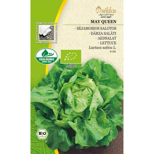 Sallad Organic Butterhead May Queen-Frö till Sallad Organic - Butterhead May Queen
