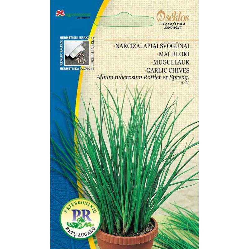 Kinesisk gräslök Vitlök-Frö till Kinesisk gräslök - Vitlök