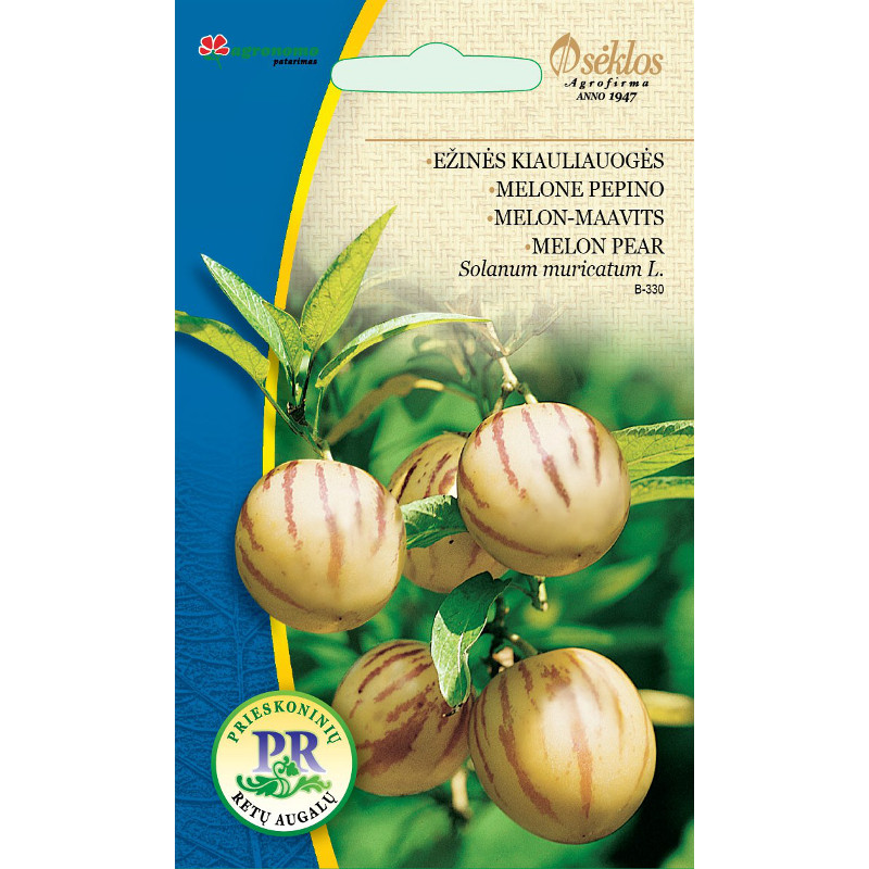 Pepino - Melonpäron, Frö till Pepino