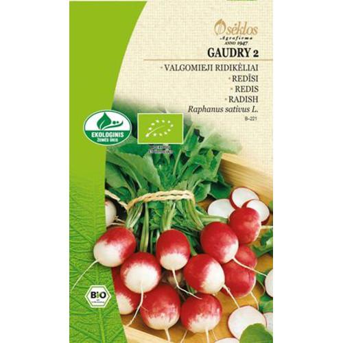 Rädisa Organic, Gaudry 2-Frö till Rädisa Organic - Gaudry 2