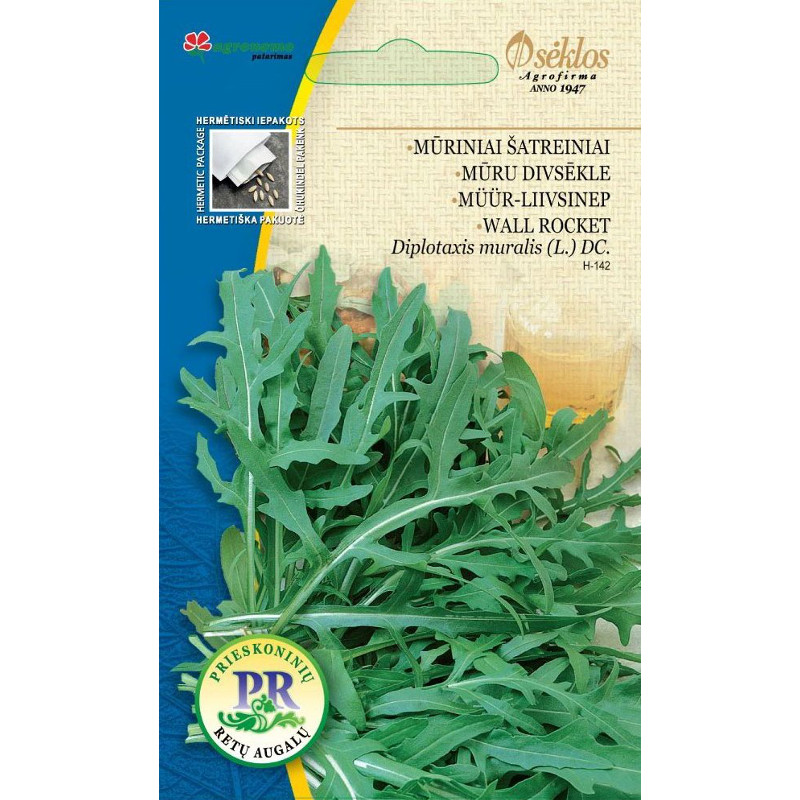 Ruccola Wall rocket-Frö till Ruccola - Wild rocket