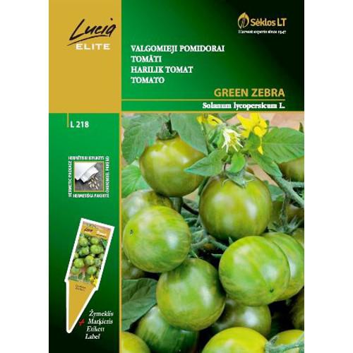 Tomat Green Zebra-Frö till Tomat - Green Zebra