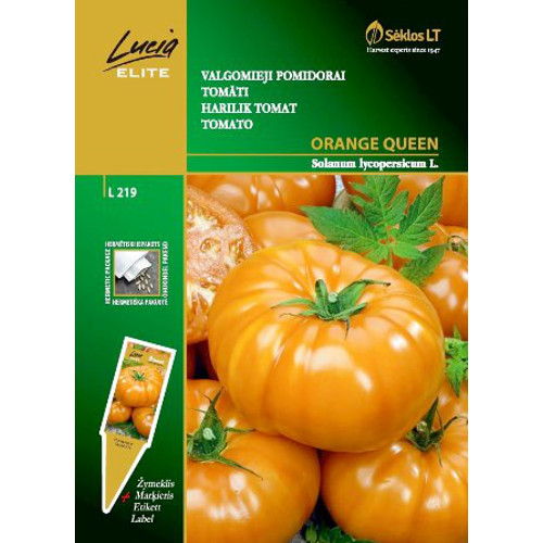 Tomat Orange Queen-Frö till Tomat - Orange Queen