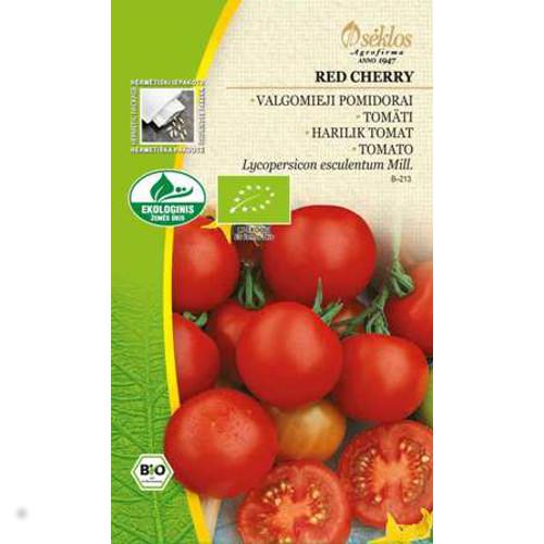 Tomat Organic Red Cherry, Frö till Tomat Organic - Red Cherry
