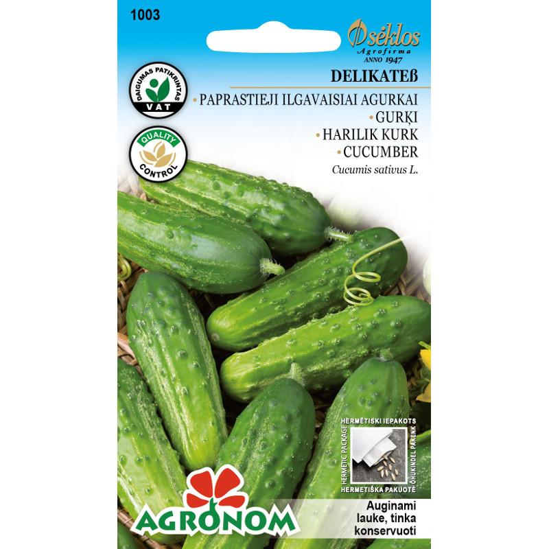 Växthusgurka Delikatess-Frö till Växthusgurka - Delikatess