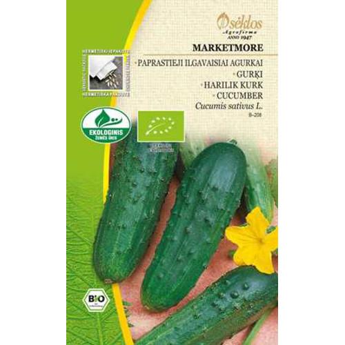 Gurka Organic Marketmore, Frö till Gurka Organic - Marketmore