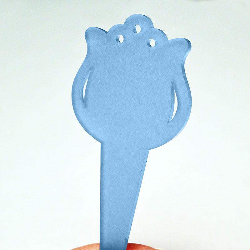 Blomskylt Tulpan, Blå, blomskylt tulpanformad, blå