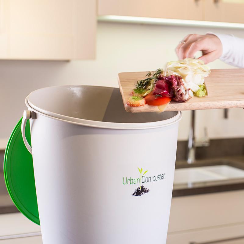 Bokashihink för kompostering inomhus