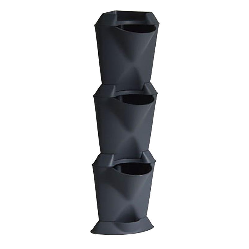 Minigarden Corner - vertikalodling grå-Minigarden corner - vertikal inomhusodling