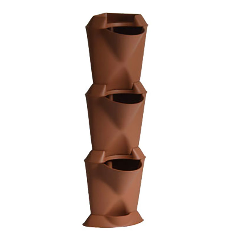 Minigarden Corner - vertikalodling terrakotta-Minigarden corner - vertikal inomhusodling