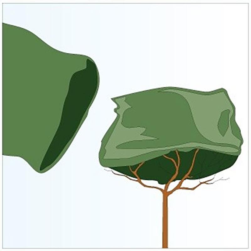 Jutesäck grön,