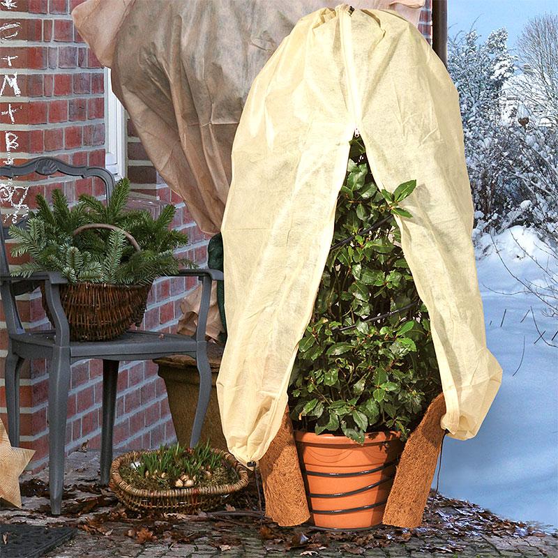 Frostskyddskabel för växter vid övervintring utomhus