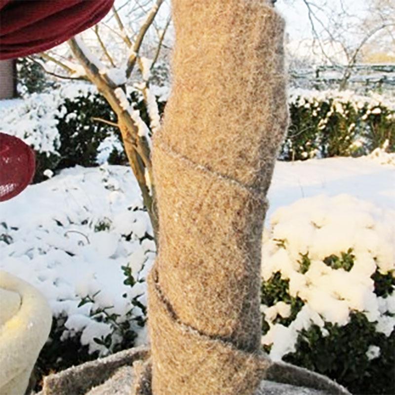 Vinterskydd band i fårull-Vinterskydd band i fårull
