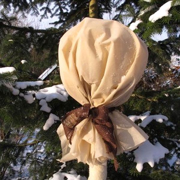 Fiberduk 34gram, beige - 2-pack-Fiberduk för skydd av växter 34 gram