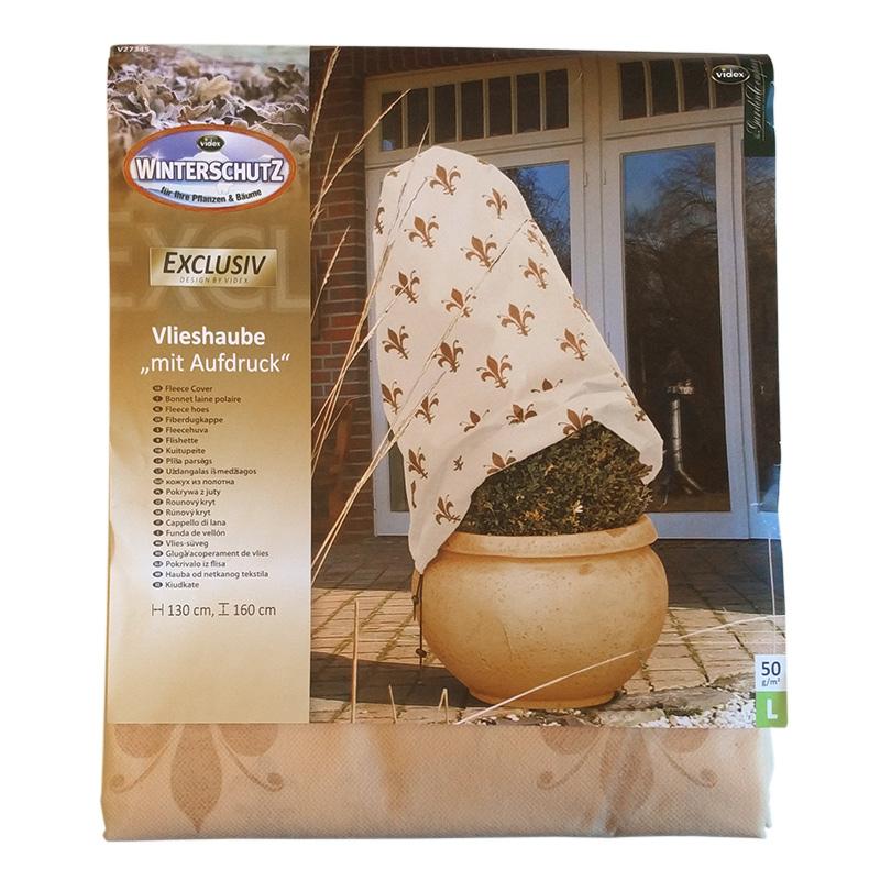 Fiberdukshuva för vinterskydd, färg cappuccino