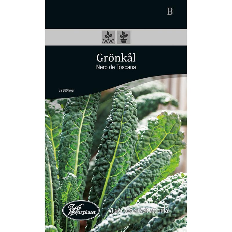 Frö för odling av Grönkål - Nero de Toscana