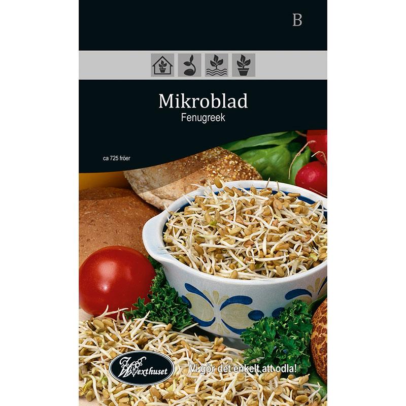 Frö för odling av Mikroblad - Fenugreek