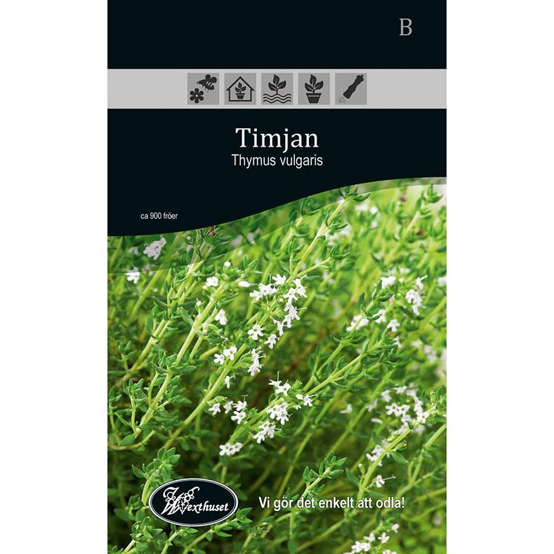 Frö för odling av Timjan