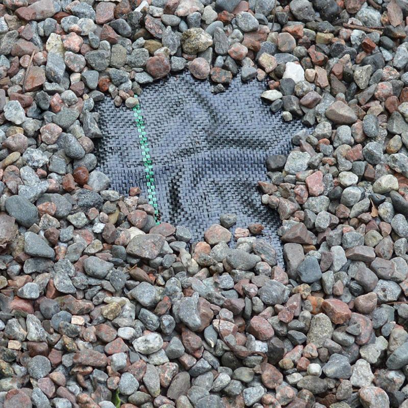 Markväv för underlag i sand- och grusgångar, 10 kvm