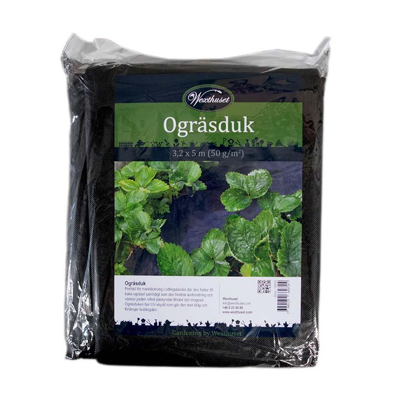 Ogräsduk för skydd mot ogräs, förpackning