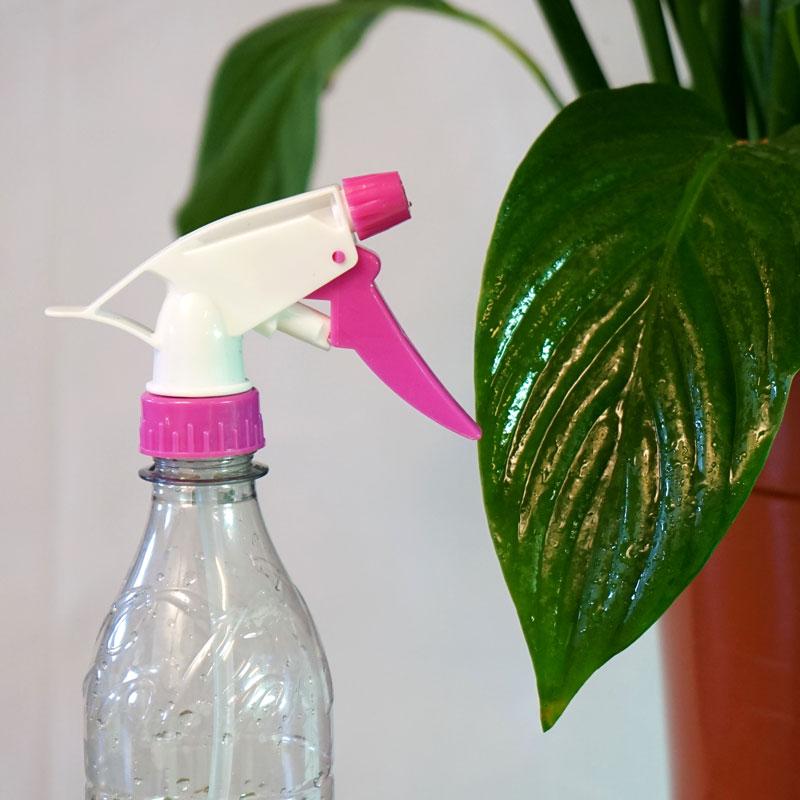 Rosa spraymunstycke till PET-flaska