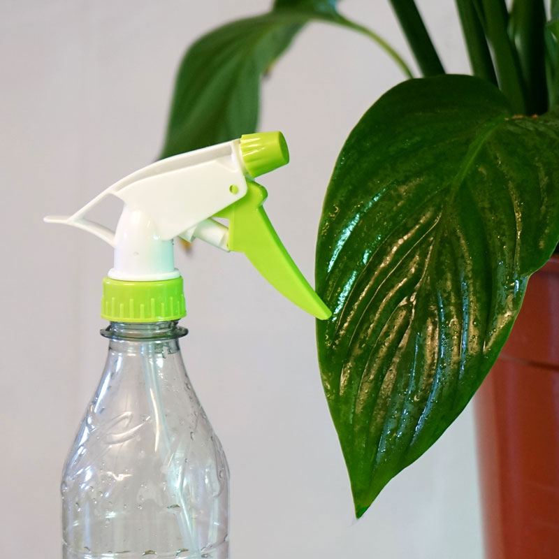 Grönt spraymunstycke till PET-flaska